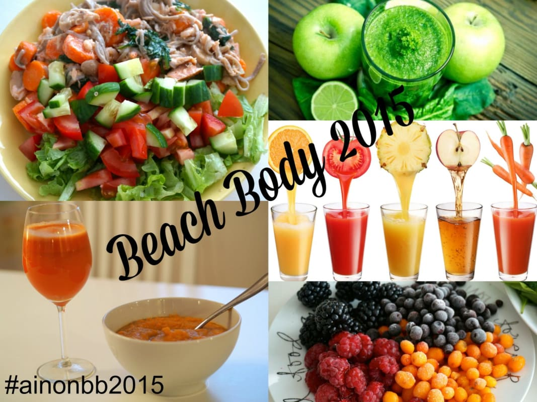 BEACH BODY 2015 - RUOKAVALIO